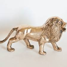 lion figurine shop brass animal figurines on wanelo