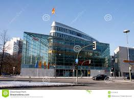 Haus Berlin Konrad Adenauer Haus Berlin Redaktionelles Bild Bild 51273615