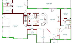House Plans Single Level Ranch Homes Plans Side Entrance Garage House Plan Single Level
