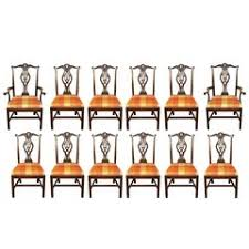 Chippendale Dining Room Set Chippendale Dining Room Chairs 73 For Sale At 1stdibs