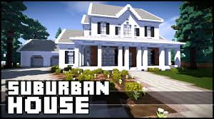 Images Of Houses Minecraft Suburban House Youtube