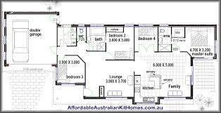 2 Bhk House Plan Appealing Four Bedroom House Plans 4 Bedroom Ranch House Within 4