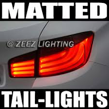Tail Light Out Matte Black Out Taillight Tint Smoked Head Fog Tail Light Tinted
