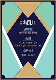 menu design resources design a glamorous art deco menu in adobe indesign design