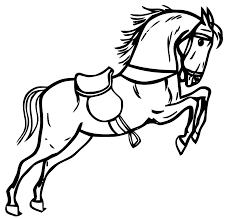 coloriage cheval a imprimer gratuit az coloriage