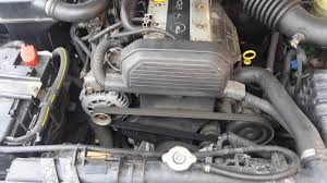opel frontera opel frontera vauxhall engine 2 2 i 16v motor studeny start