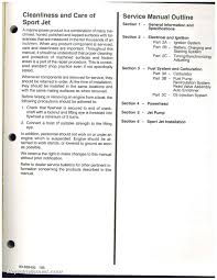 used 1995 mercury 90 120 sport jet engine service manual