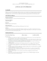 junior net developer resume example 1 page of 3 certified