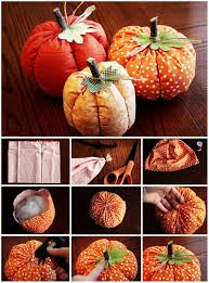 Pinterest Crafts For Home Decor 47 Best Fabric Pumpkins Images On Pinterest Fabric Pumpkins