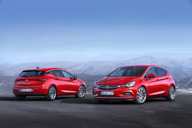 opel ford revealed the new opel astra megacars