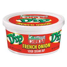 Cottage Cheese Onion Dip by French Onion Dip Cabot Creamery
