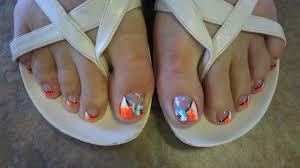toe nail designs ii by nini u0027s nails youtube