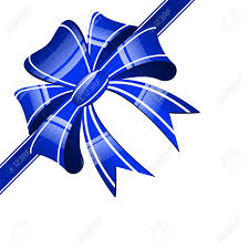 white and blue bows blue bow on a white background royalty free cliparts vectors and