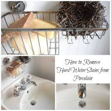 Get Rid Of Bathtub Stains How To Remove Hard Water Stains From A Porcelain Sink Hometalk