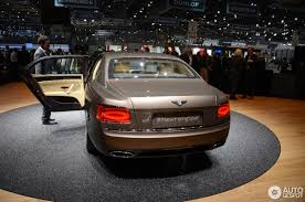 bentley flying spur 2 door geneva 2013 bentley flying spur