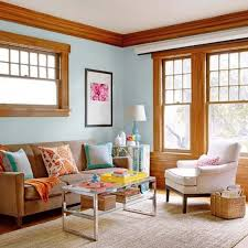 What Color To Paint Bedroom Furniture by Paint Colors For Rooms Trimmed With Wood Wood Trim Blue Painted