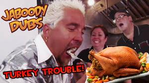 fieri dub turkey trouble