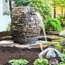 garden fountain design pictures outdoor rock water fountain