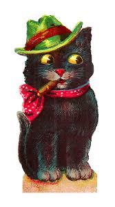 antique images vintage halloween black cat images costumes