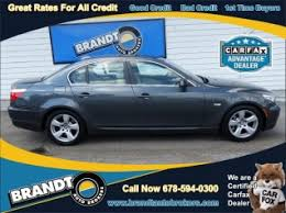 bmw 5 series for sale used used bmw 5 series for sale in atlanta ga 300 used 5 series