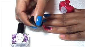 nails caviar manicure using ciaté caviar mini bar youtube