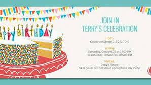 birthday party invitations online birthday party invitations