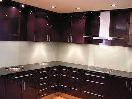 Brown Glass Tile Backsplash Ideas  Kitchen Cabinet  Sweet Glass - White glass tile backsplash
