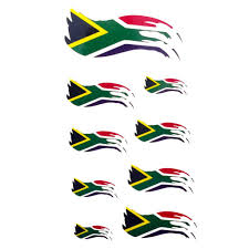 Flag Tattoos South African Flag Temporary Tattoo Sheet Temporary Tattoo Art