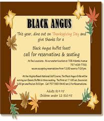 thanksgiving buffet black angus restaurant grille