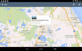 Map Of Volusia County Volusia County Baptist Church Android Apps On Google Play