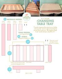 How To Make A Changing Table Topper Changing Table Tray For Dresser 9 Best Baby Tables Of 2017