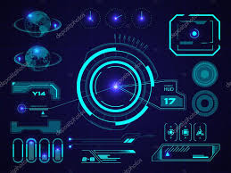 futuristic user interface hud u2014 stock vector s rumiantsev 50593163