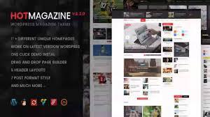 hotmagazine news u0026 magazine wordpress theme themeforest