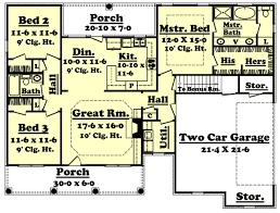 open floor house plans with photos great open floor with bonus room 11720hz architectural designs