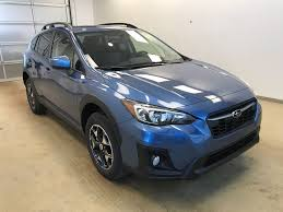crosstrek subaru white new 2018 subaru crosstrek 4 door sport utility in lethbridge ab