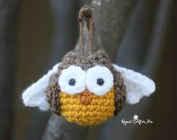 crochet owl ornament repeat crafter me