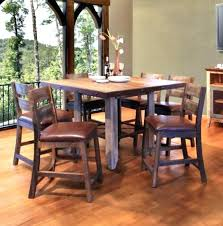 bar height dining room table sets high dining room tables bar height dining room table sets