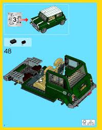 mini cooper lego lego mini cooper mk vii инструкция сборка лего 10242