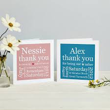 thank you card sles decorate of personalised thank you cards