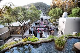outdoor wedding venues in orange county an outdoor wedding in orange county on the terrace of seven