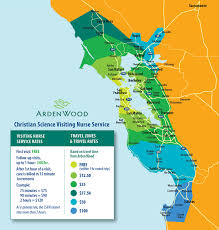 San Francisco Ferry Map by Visit Us Arden Wood