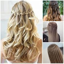 Frisuren Lange Haare Wasserfall by Süße Wasserfall Geflochtene Frisuren Für 2016 Smart Frisuren