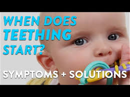 when does teething start symptoms and solutions cloudmom