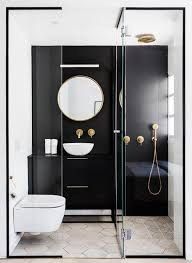 Bathroom With Black Walls 25 Chic And Stylish Bathrooms With Black Walls Digsdigs