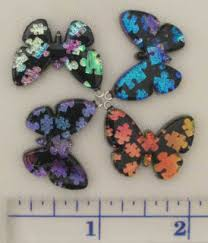 autism butterfly pendants support a cause surviving a