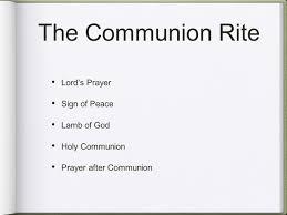 liturgy of the eucharist ppt
