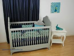 Aqua And Grey Crib Bedding Navy And Aqua Bedding Miketechguy