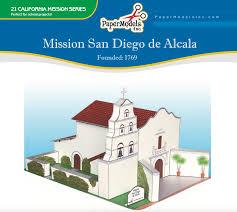 Mission Santa Clara De Asis Floor Plan by Mission San Francisco De Asis U2013 Paper Models Inc