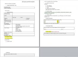 free download layout company profile download company profile template for business from