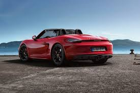Porsche Boxster Red - porsche boxster gts and cayman gts revealed pictures porsche